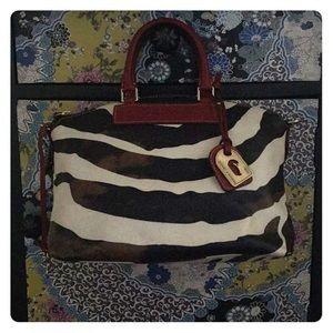 Dooney & Burke Animal Print Hand/Shoulder Bag NWOT